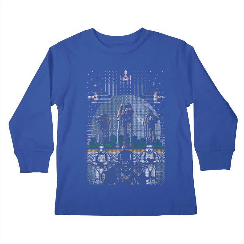 Wrath of the Empire Kids Longsleeve T-Shirt by Stationjack Geek Apparel