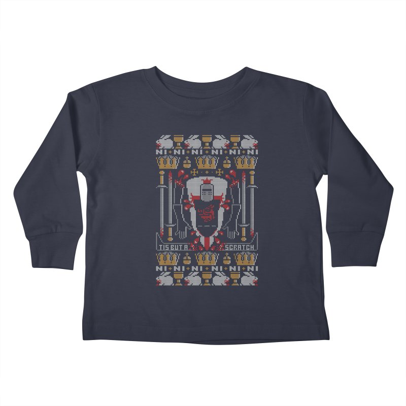 I'll Bite Ya Legs Off  Kids Toddler Longsleeve T-Shirt by Stationjack Geek Apparel