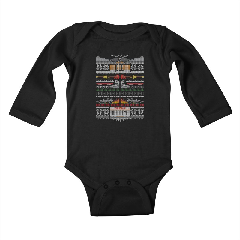 A Stitch In Time Kids Baby Longsleeve Bodysuit by Stationjack Geek Apparel
