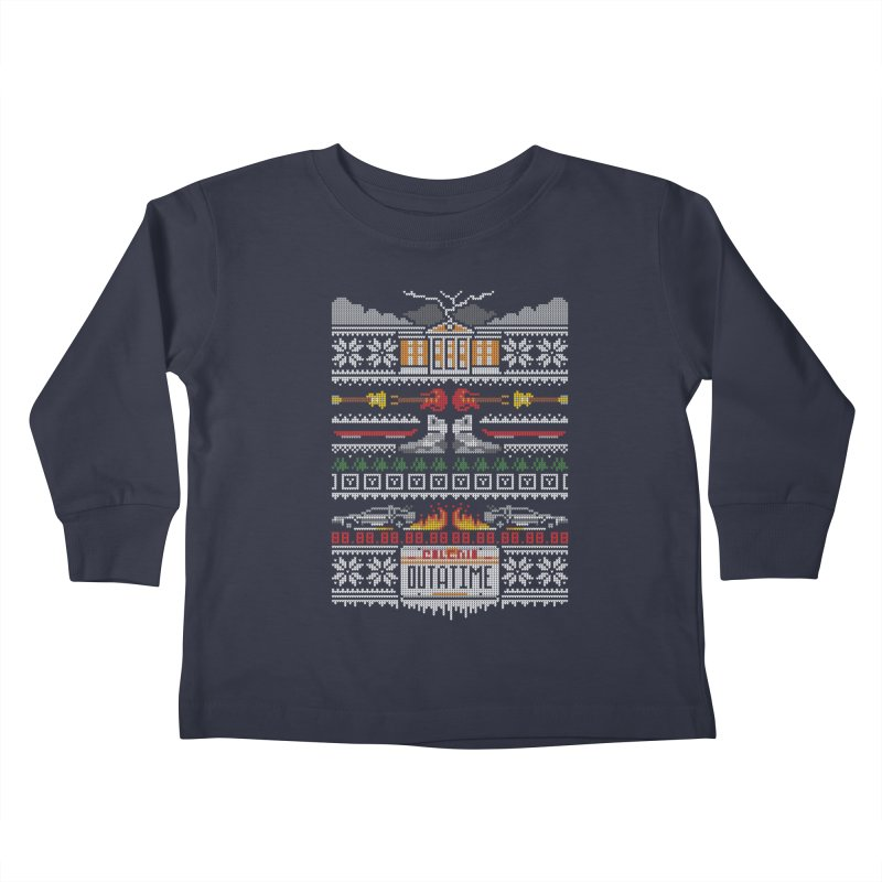 A Stitch In Time Kids Toddler Longsleeve T-Shirt by Stationjack Geek Apparel