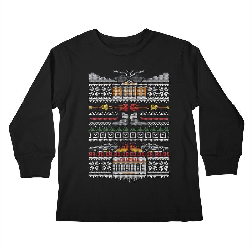 A Stitch In Time Kids Longsleeve T-Shirt by Stationjack Geek Apparel