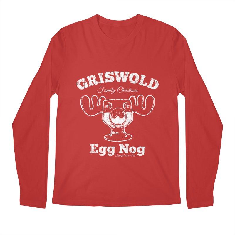Griswold Family Christmas Egg Nog Men's Longsleeve T-Shirt by Stationjack Geek Apparel