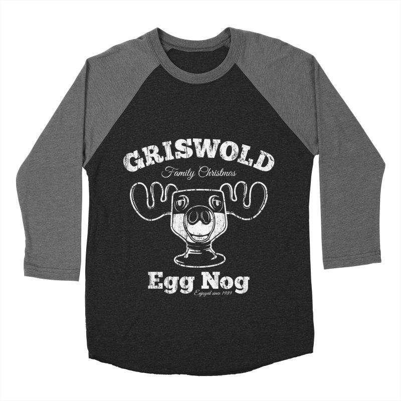 Griswold Family Christmas Egg Nog Women's Baseball Triblend T-Shirt by Stationjack Geek Apparel