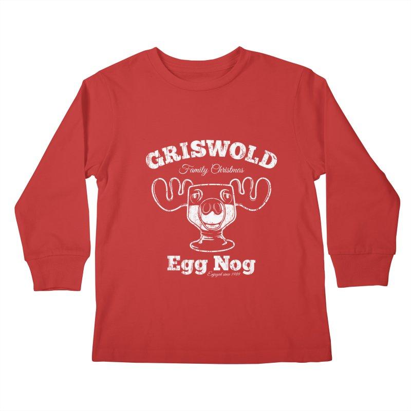 Griswold Family Christmas Egg Nog Kids Longsleeve T-Shirt by Stationjack Geek Apparel
