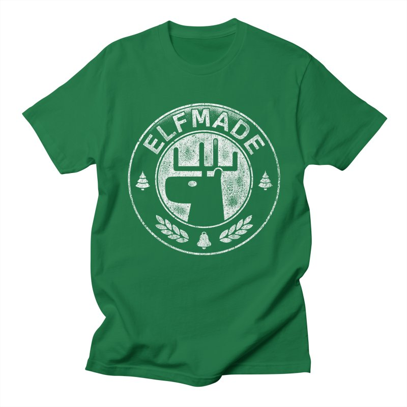 Elf Made Men's T-shirt by Stationjack Geek Apparel