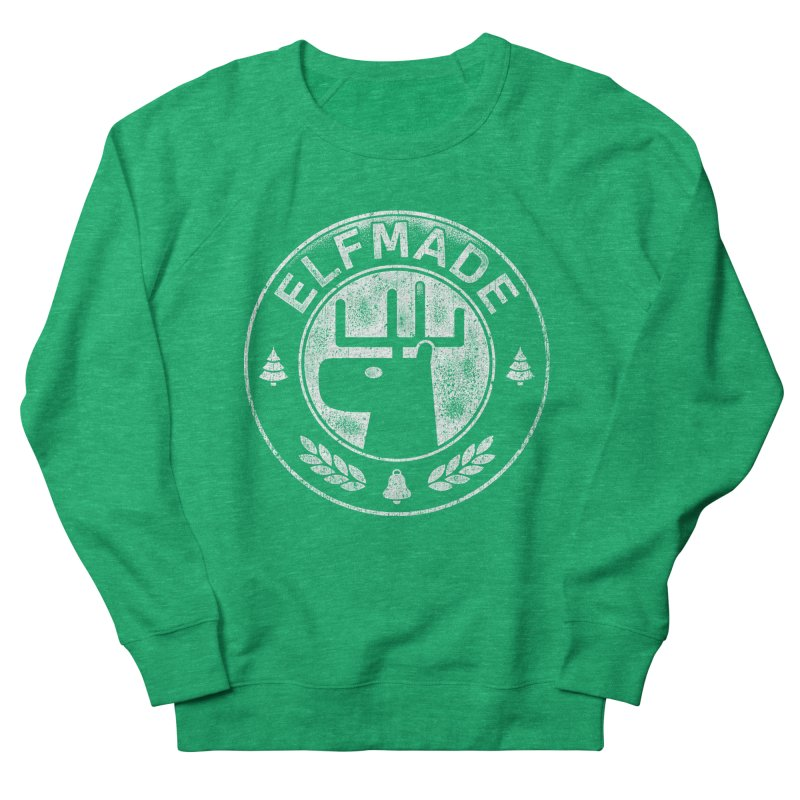 Elf Made Men's Sweatshirt by Stationjack Geek Apparel