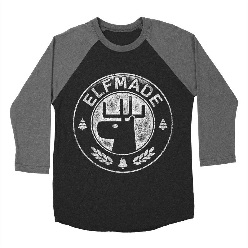 Elf Made Women's Baseball Triblend T-Shirt by Stationjack Geek Apparel
