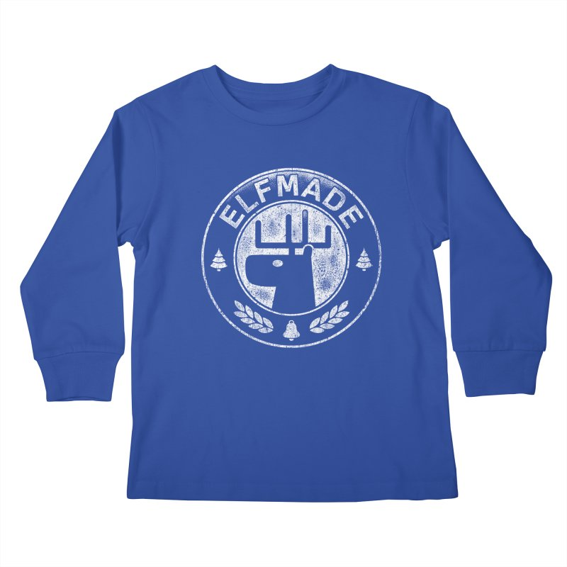 Elf Made Kids Longsleeve T-Shirt by Stationjack Geek Apparel