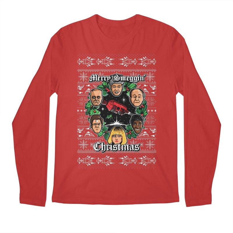 Merry Smeggin' Christmas Men's Longsleeve T-Shirt by Stationjack Geek Apparel