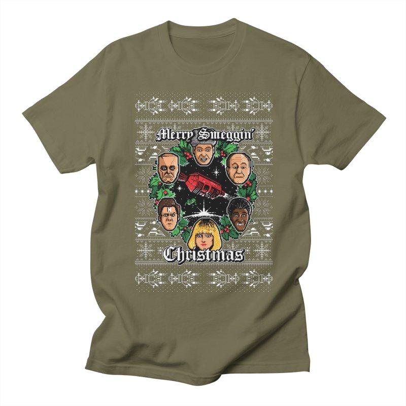 Merry Smeggin' Christmas Women's Unisex T-Shirt by Stationjack Geek Apparel