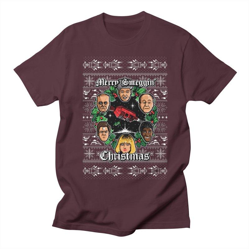 Merry Smeggin' Christmas Men's T-Shirt by Stationjack Geek Apparel