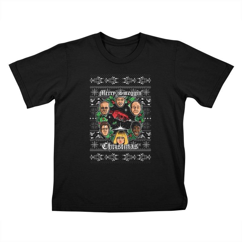 Merry Smeggin' Christmas Kids T-shirt by Stationjack Geek Apparel