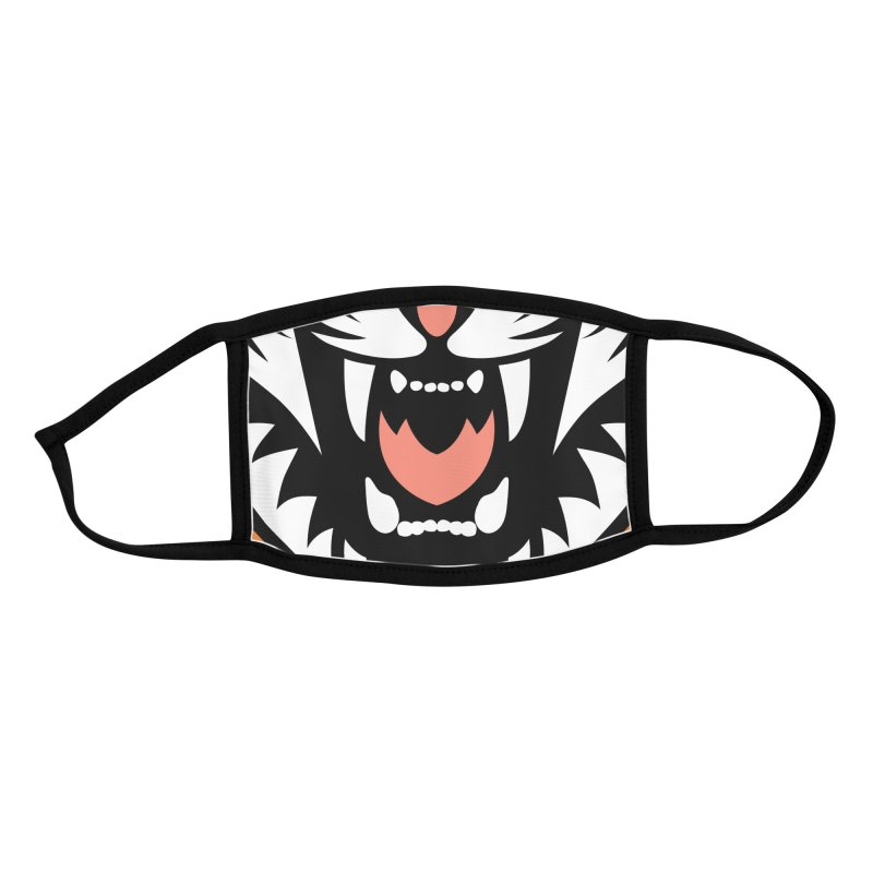 Beautiful Big Cat Accessories Face Mask by Stationjack