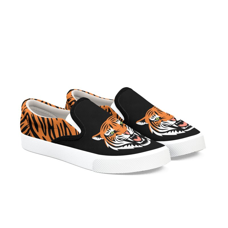Beautiful Big Cat Women's Shoes by Stationjack