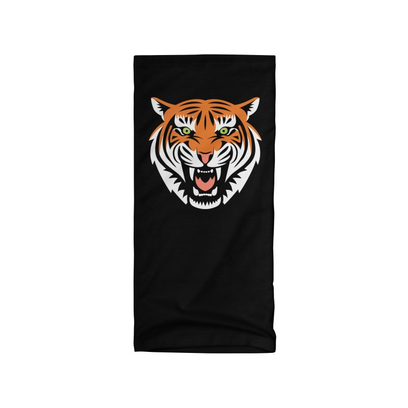 Beautiful Big Cat Accessories Neck Gaiter by Stationjack