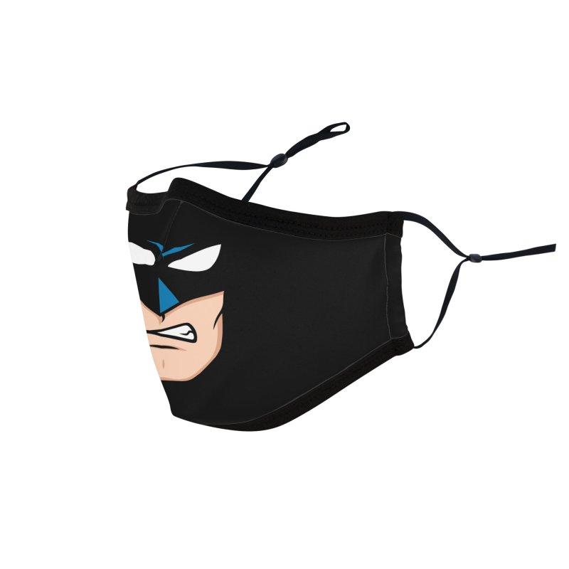 Holy Batmask! Accessories Face Mask by Stationjack