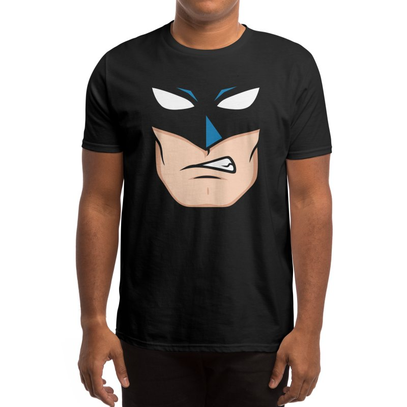 Holy Batmask! Men's T-Shirt by Stationjack