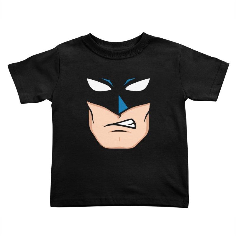 Holy Batmask! Kids Toddler T-Shirt by Stationjack