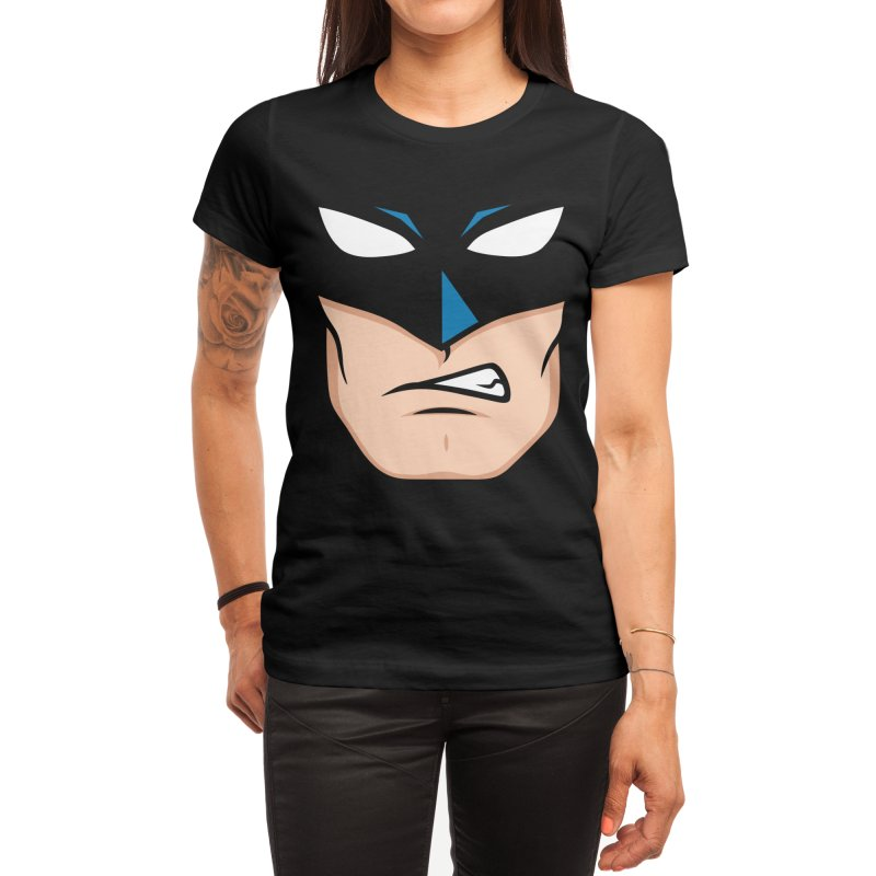 Holy Batmask! Women's T-Shirt by Stationjack