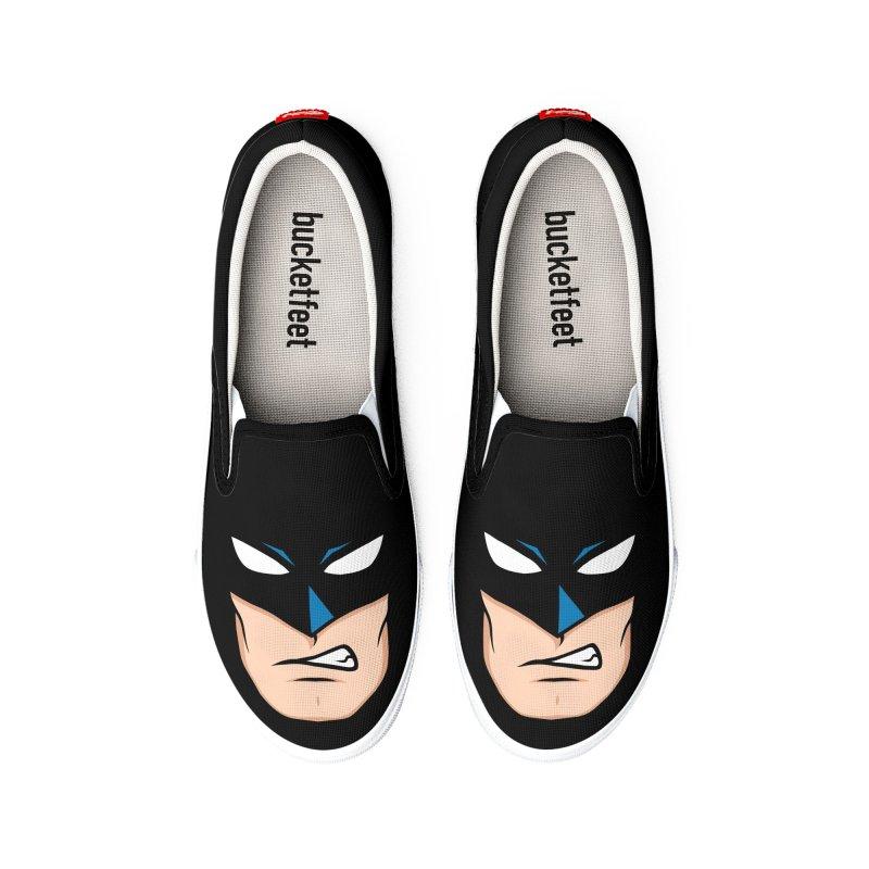 Holy Batmask! Men's Shoes by Stationjack