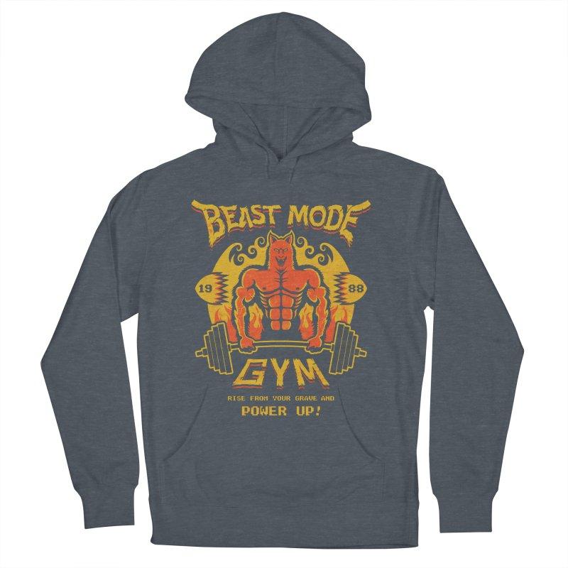 Beast Mode Gym Men's Pullover Hoody by Stationjack Geek Apparel