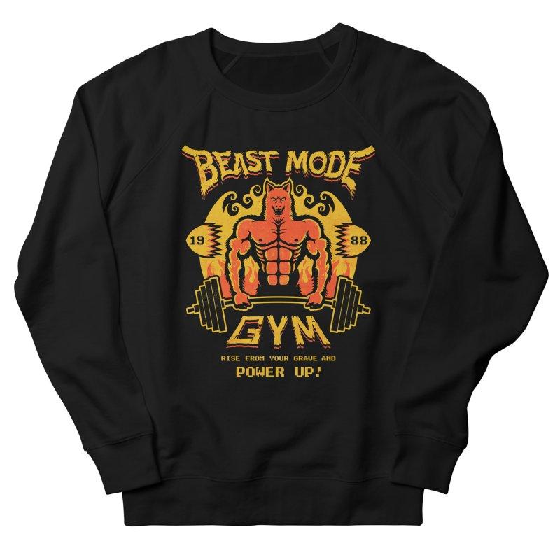 Beast Mode Gym Men's Sweatshirt by Stationjack Geek Apparel