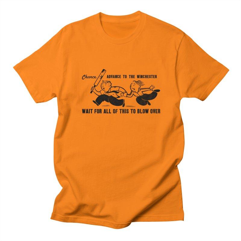 Shaun's Last Chance Men's T-shirt by Stationjack Geek Apparel