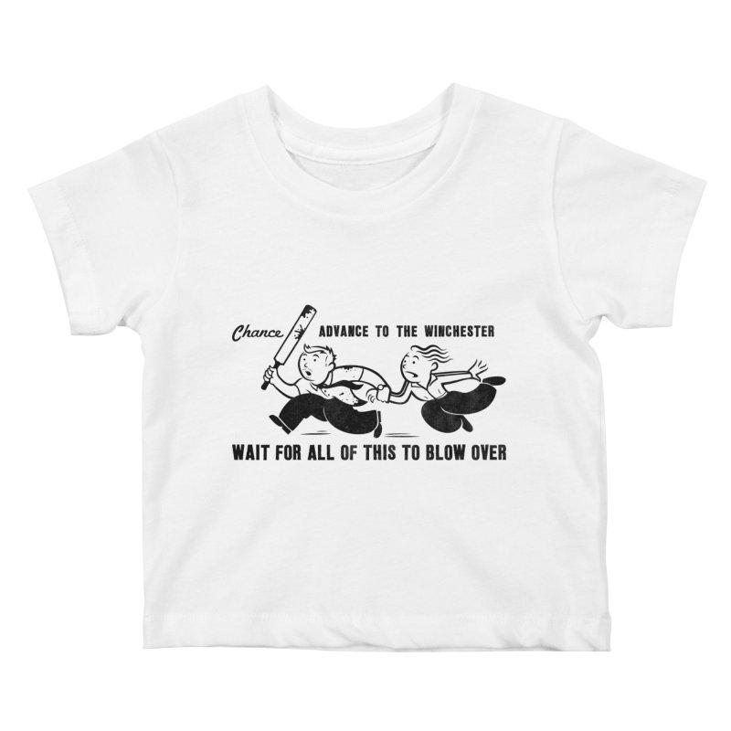 Shaun's Last Chance Kids Baby T-Shirt by Stationjack Geek Apparel