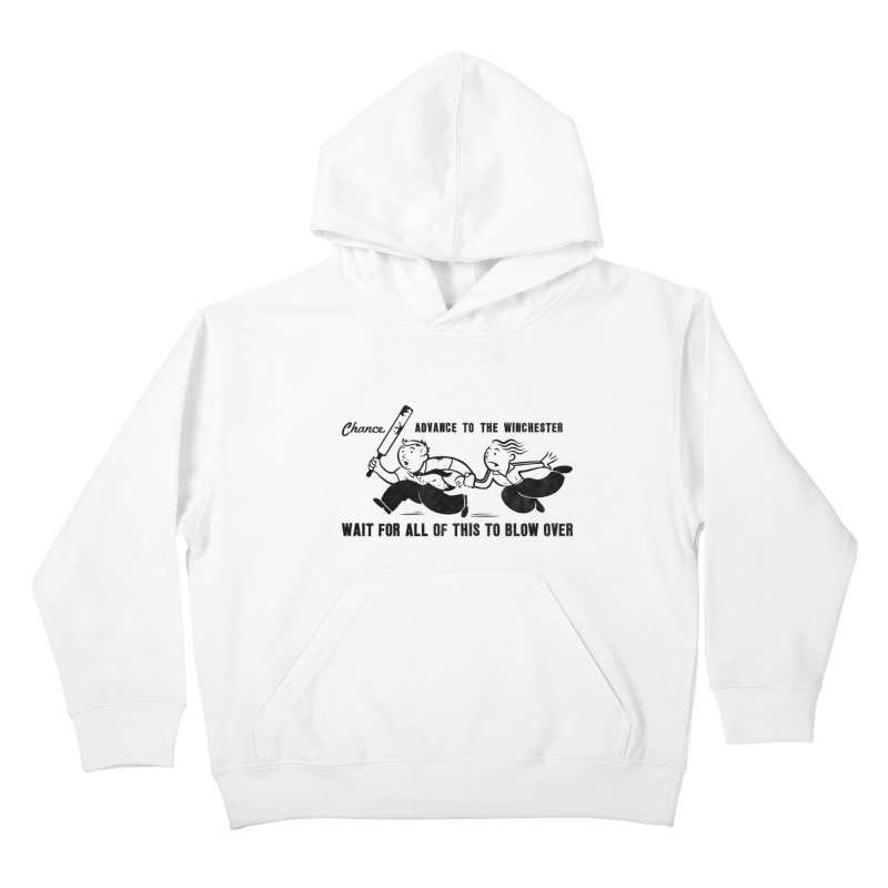 Shaun's Last Chance Kids Pullover Hoody by Stationjack Geek Apparel