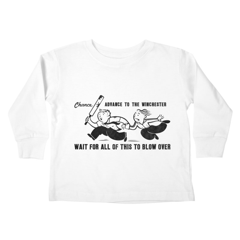 Shaun's Last Chance Kids Toddler Longsleeve T-Shirt by Stationjack Geek Apparel