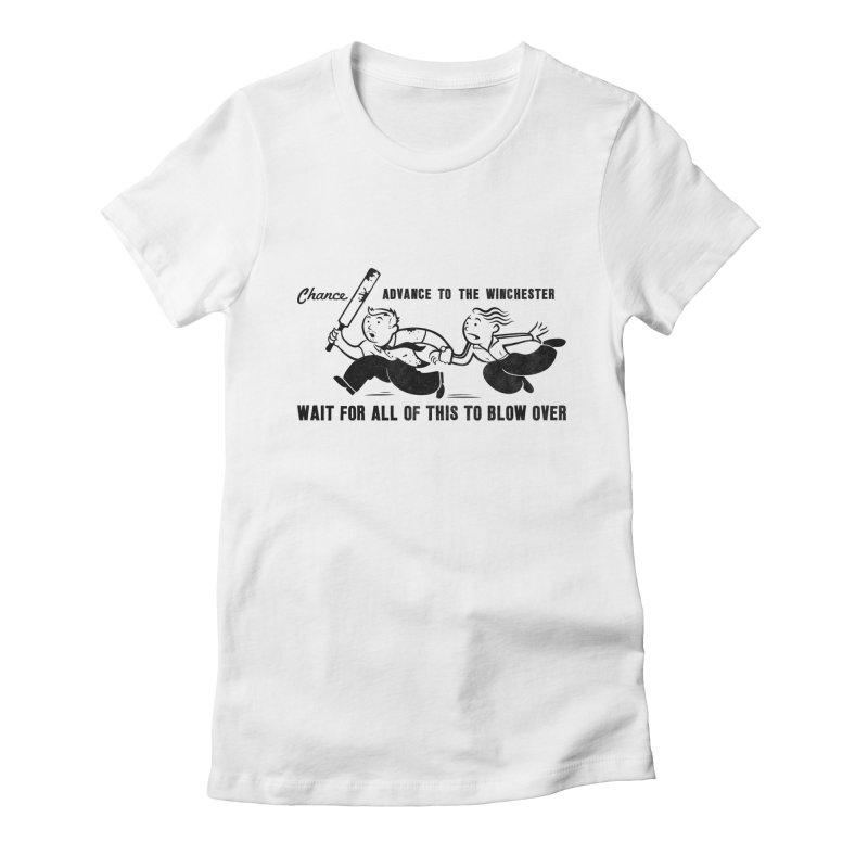 Shaun's Last Chance Women's Fitted T-Shirt by Stationjack Geek Apparel