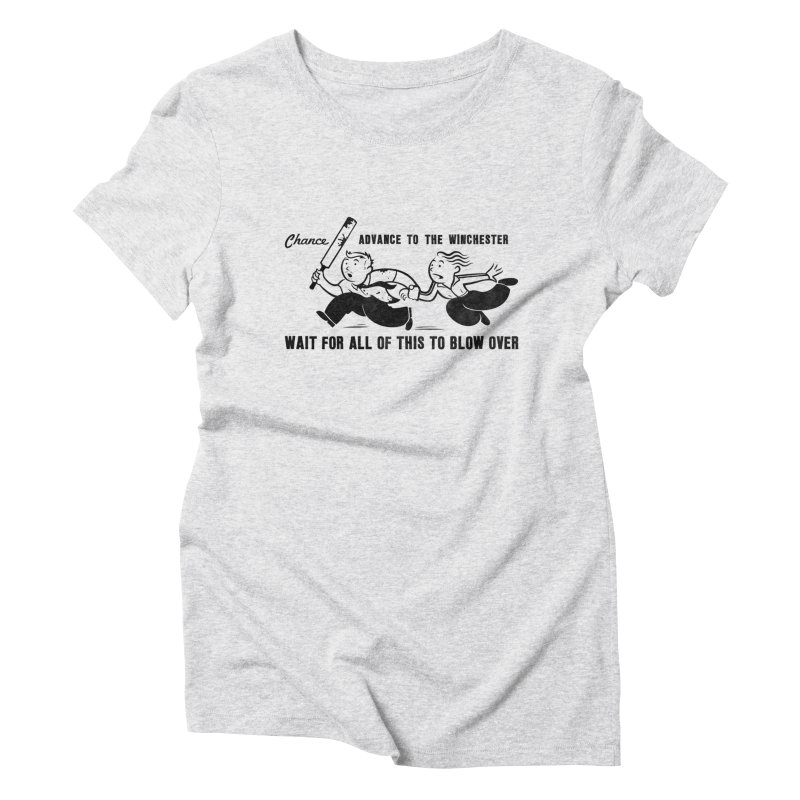 Shaun's Last Chance Women's Triblend T-shirt by Stationjack Geek Apparel