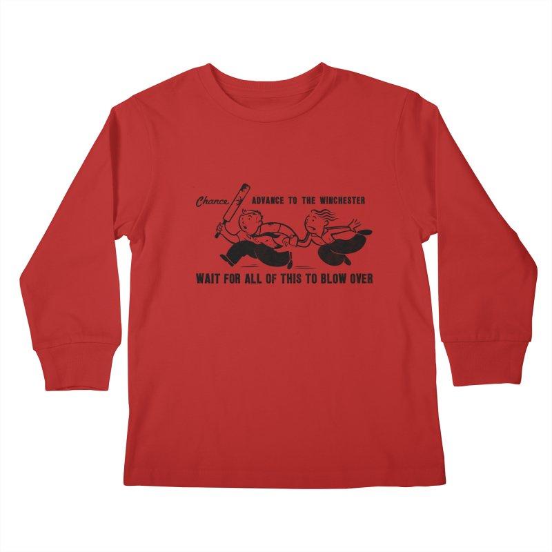 Shaun's Last Chance Kids Longsleeve T-Shirt by Stationjack Geek Apparel