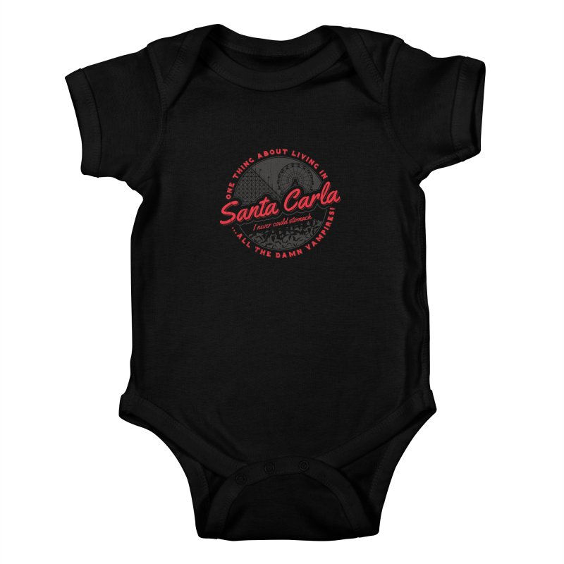 Living in Santa Carla Kids Baby Bodysuit by Stationjack Geek Apparel