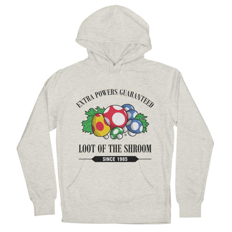Loot of the Shroom Women's Pullover Hoody by Stationjack Geek Apparel