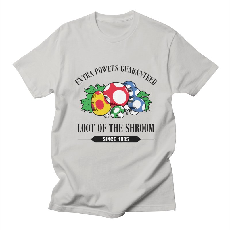 Loot of the Shroom Men's T-shirt by Stationjack Geek Apparel