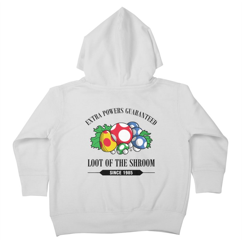 Loot of the Shroom Kids Toddler Zip-Up Hoody by Stationjack Geek Apparel