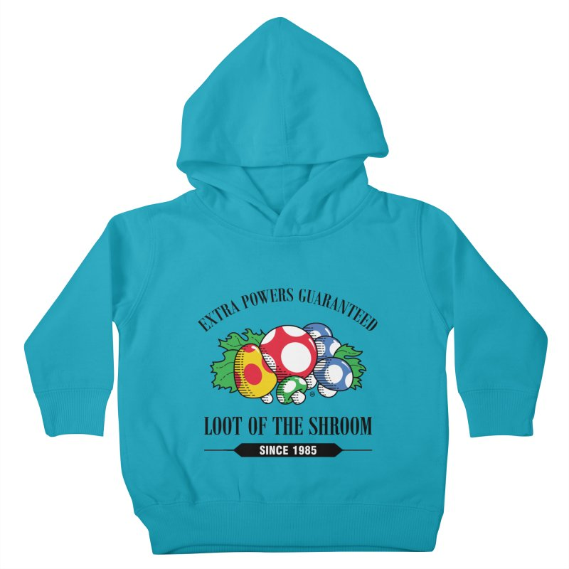 Loot of the Shroom Kids Toddler Pullover Hoody by Stationjack Geek Apparel