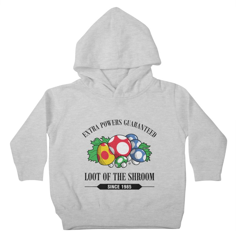 Loot of the Shroom Kids Toddler Pullover Hoody by Stationjack Geek Apparel