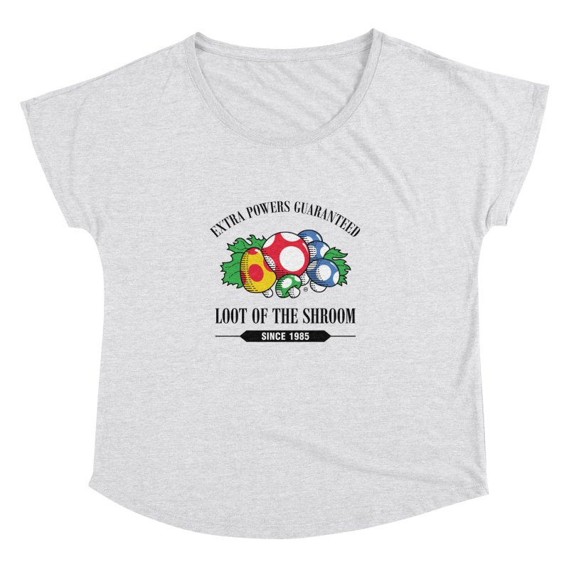 Loot of the Shroom Women's Dolman by Stationjack Geek Apparel