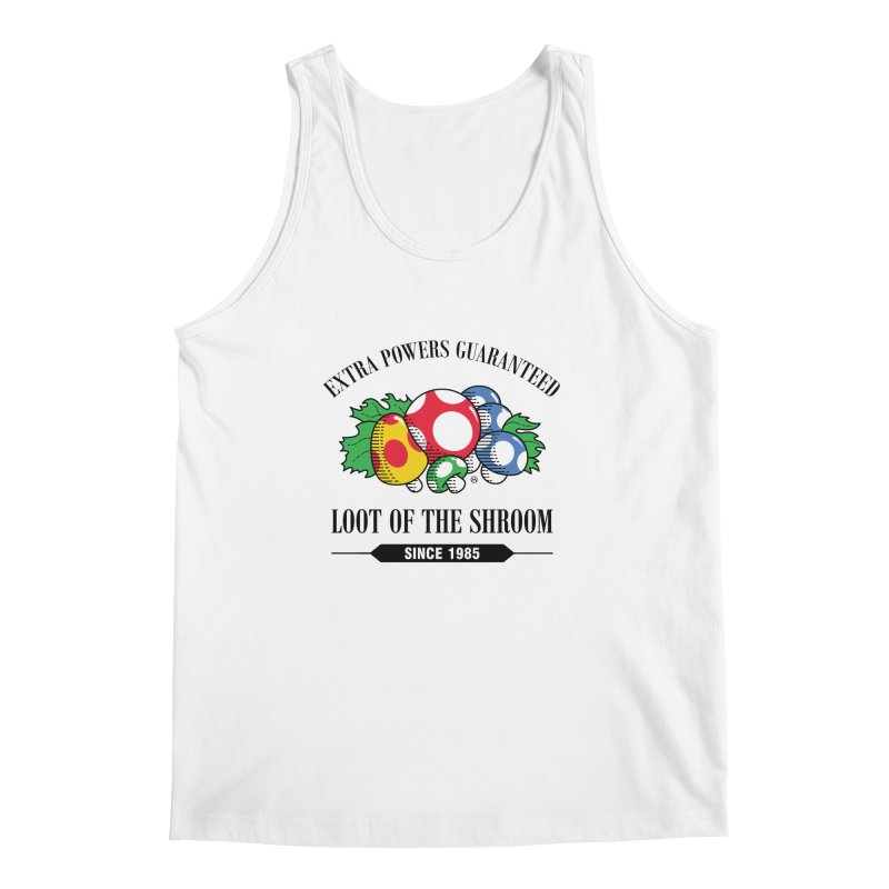 Loot of the Shroom Men's Tank by Stationjack Geek Apparel