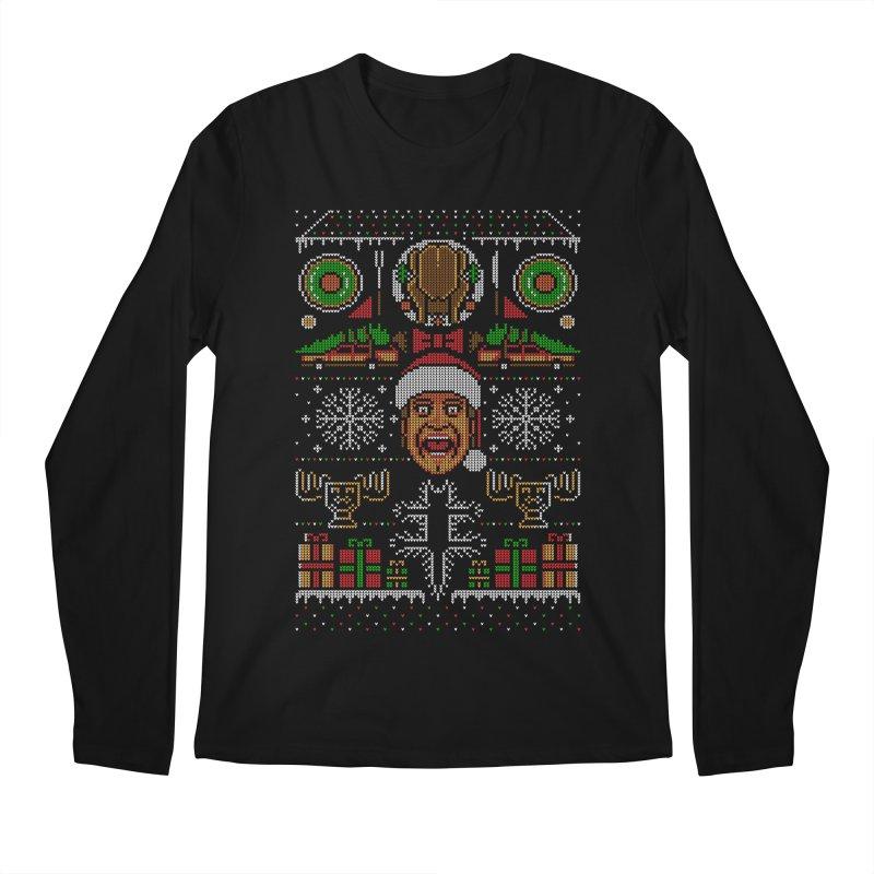 Hap Hap Happiest Christmas Men's Longsleeve T-Shirt by Stationjack Geek Apparel