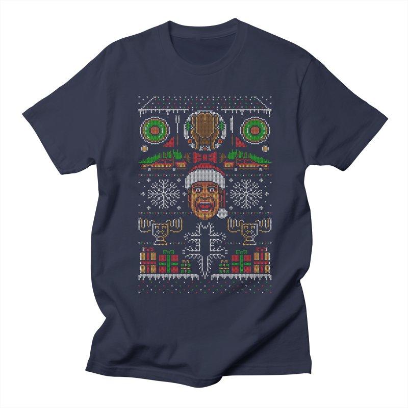 Hap Hap Happiest Christmas Men's T-Shirt by Stationjack Geek Apparel