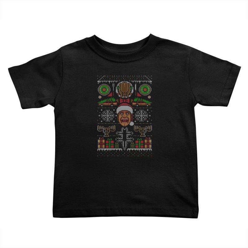 Hap Hap Happiest Christmas Kids Toddler T-Shirt by Stationjack Geek Apparel