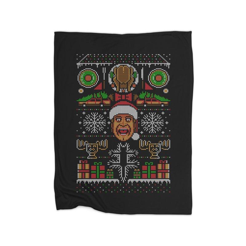 Hap Hap Happiest Christmas Home Blanket by Stationjack Geek Apparel
