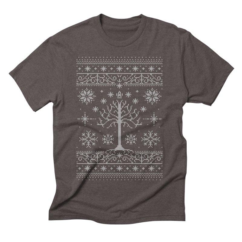 Minas Christmas Men's Triblend T-Shirt by Stationjack Geek Apparel