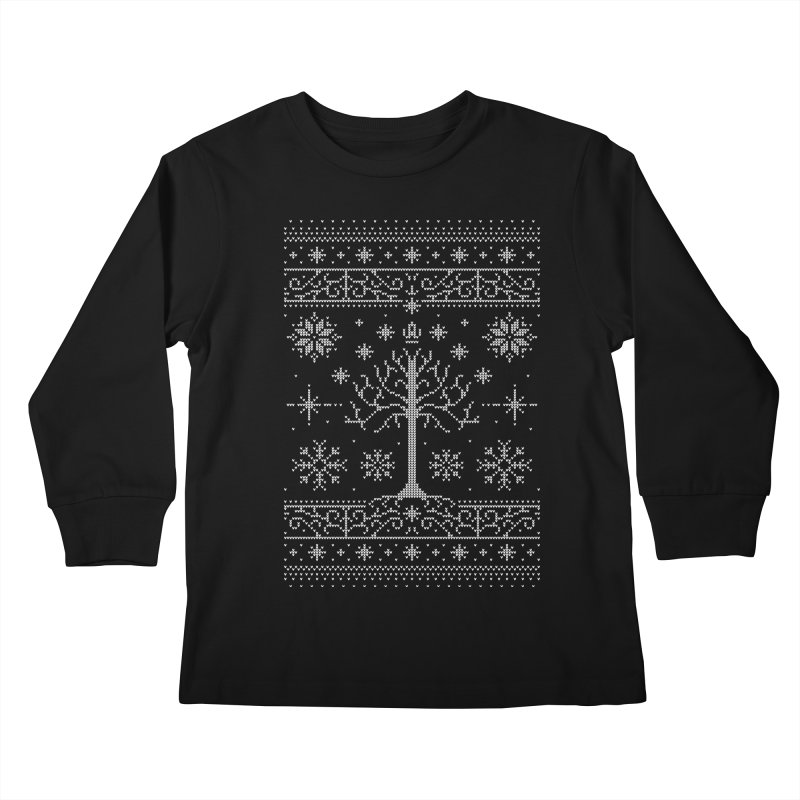 Minas Christmas Kids Longsleeve T-Shirt by Stationjack Geek Apparel