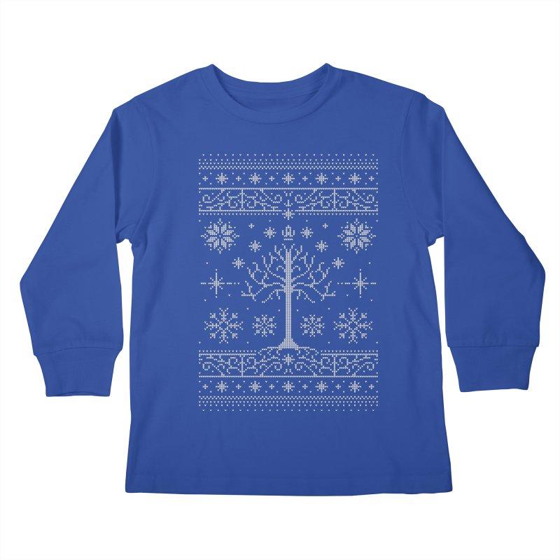 Minas Christmas Kids Longsleeve T-Shirt by Stationjack Geek Apparel