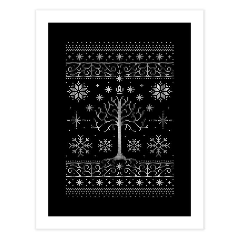 Minas Christmas Home Fine Art Print by Stationjack Geek Apparel
