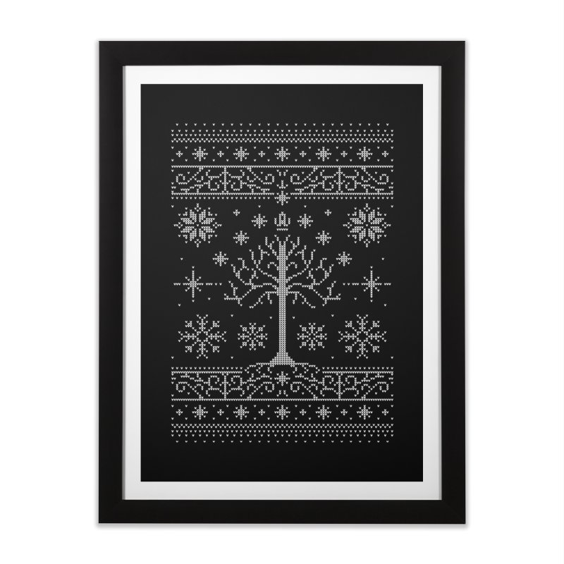 Minas Christmas Home Framed Fine Art Print by Stationjack Geek Apparel